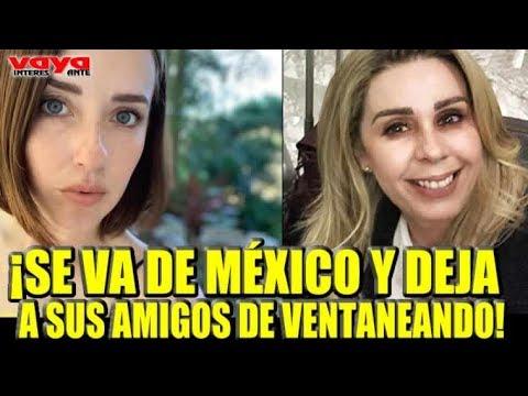 """Atala Sarmiento Deja México Y Se Va A Vivir A España Como """"La Choco"""""""