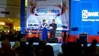 MC Pengundian BRI Simpedes 2014