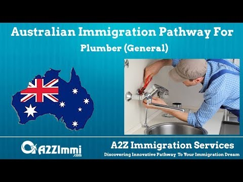 Plumber (General) | 2020 | PR / Immigration Requirements For Australia