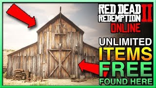 Red Dead Redemption 2 Online FREE AND DUPLICATE ITEMS GLITCH! Red Dead Online Glitch!
