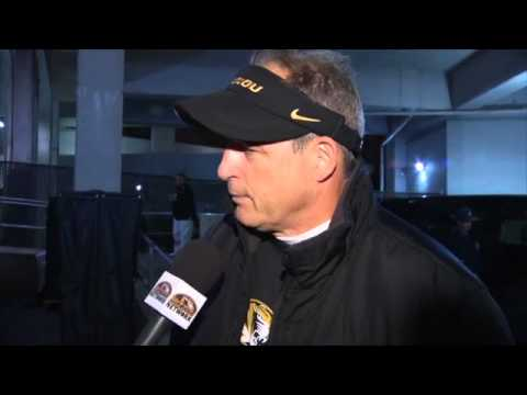 POST-GAME INTERVIEW:  Gary Pinkel After Win At Ole Miss