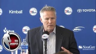 [FULL] Philadelphia 76ers parting ways with Bryan Colangelo | NBA on ESPN