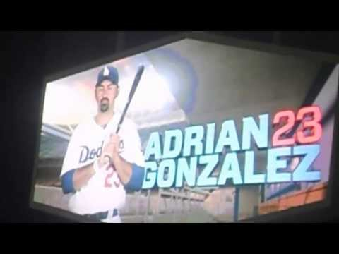 "Adrian Gonzalez at bat intro ""El Mariachi Loco"" by Mariachi Vargas"