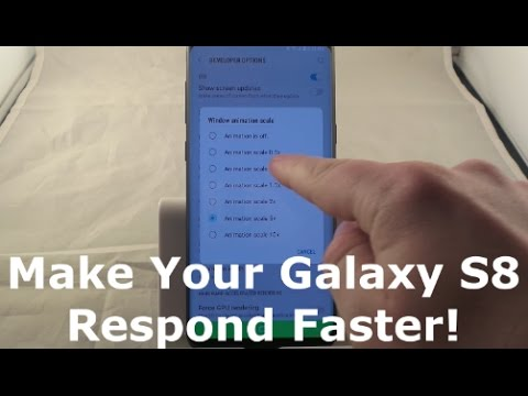 Make Your Samsung Galaxy S8 Faster