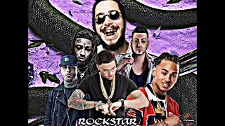 Post Malone Ft. 21 Savage, J Quiles, Miky Woodz, Ozuna Y Nicky Jam - Rockstar (Full Remix)