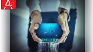 Photosop Speed Art Saklı Göl