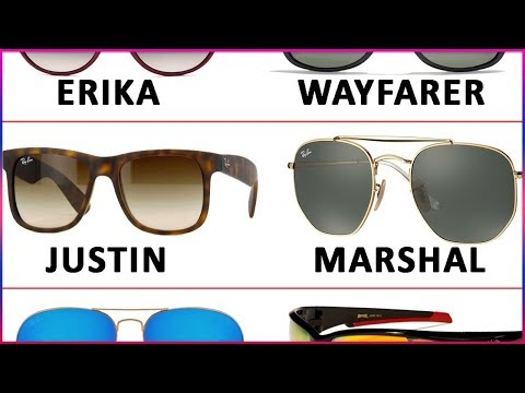 Names of all Sunglasses | Fashion Styles & Designs of Sun Glasses Goggles & Shades