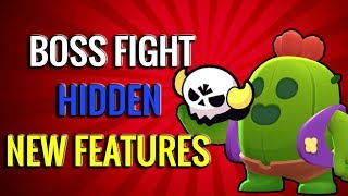 Hidden New Features in Boss Fight! Best Brawlers to Use? Brawl Stars