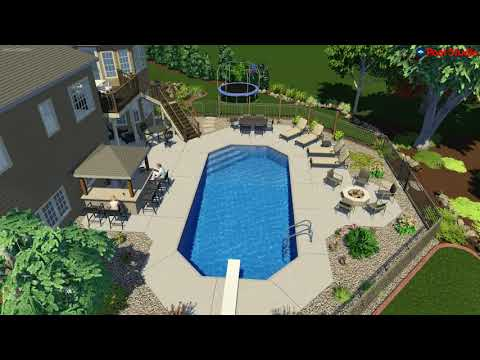 Sussex, WI - Pool Concept Video -Grecian