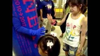 ZENT 3年カン プロジェクト ゲリラPR映像 女の子達のコスチュームがと...
