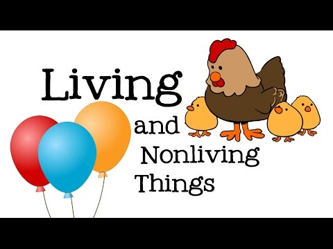 Living and Nonliving Things for Kids: Life Science for Children - FreeSchool