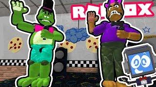 Roblox FNAF 6 PIZZERIA SIMULATOR RP-New animatronics ► música musical robot Fandroid!