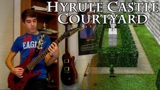 Hyrule Castle Courtyard Guitar Cover