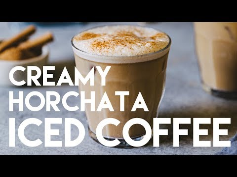 Horchata starbucks recipe