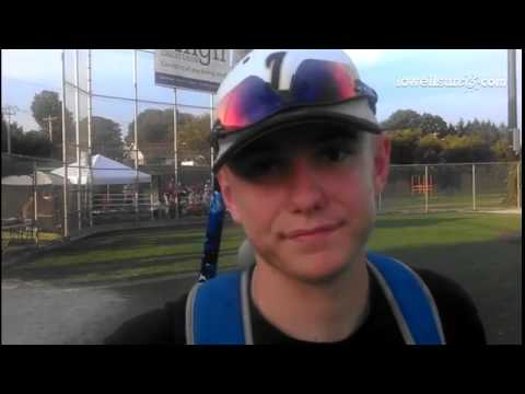 (Video) Lowell Post 87 leadoff hitter Andrew Curtis talks about going 6-for-6 at the plate with 4 ru