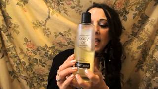 What I am Loving!!! Neutrogena Body Oil~Review Thumbnail