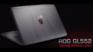 ASUS ROG  GL552 Review … Best Budget Gaming Laptop of 2016 (6th Gen i7, 16gb ddr4 ram)