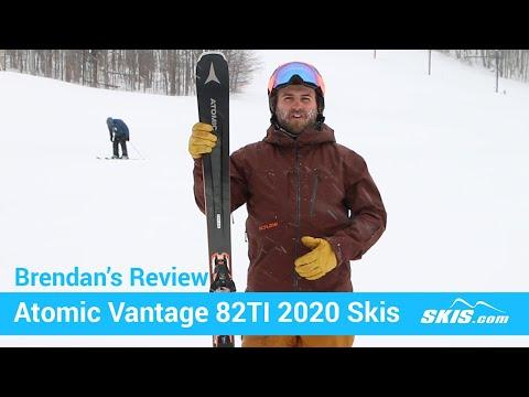 Brendan's Review-Atomic Vantage 82 TI Skis 2020-Skis.com