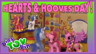 Shining Armor & Princess Cadance Hearts & Hooves Day 2016   My Little Pony Skit By Bin's Toy Bin
