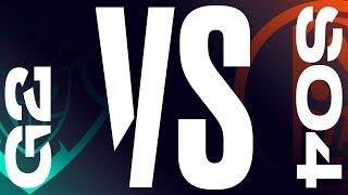 G2 vs. S04 - Week 1 Day 2 | LEC Spring Split | G2 Esports vs. Schalke 04 (2019)