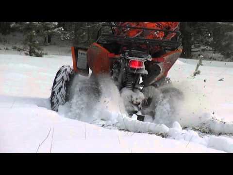 Patron Scaner 250 зимой с цепями