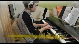 One Direction - Once in a Lifetime - Piano Cover - Slower Ballad Cover