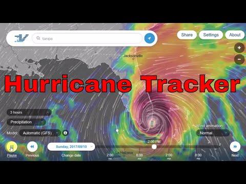 Hurricane Tracker - Track Tropical Storms