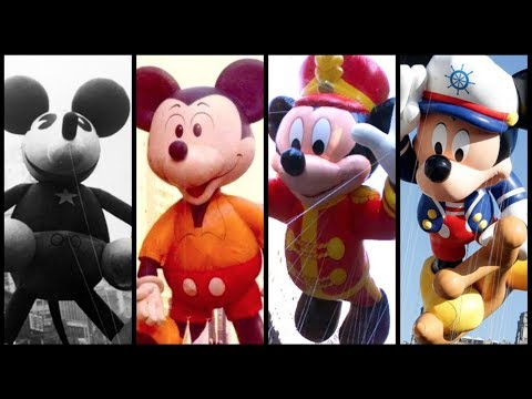 Evolution Of Mickey Mouse Balloons In Macy's Thanksgiving Day Parade! - DIStory Ep. 15
