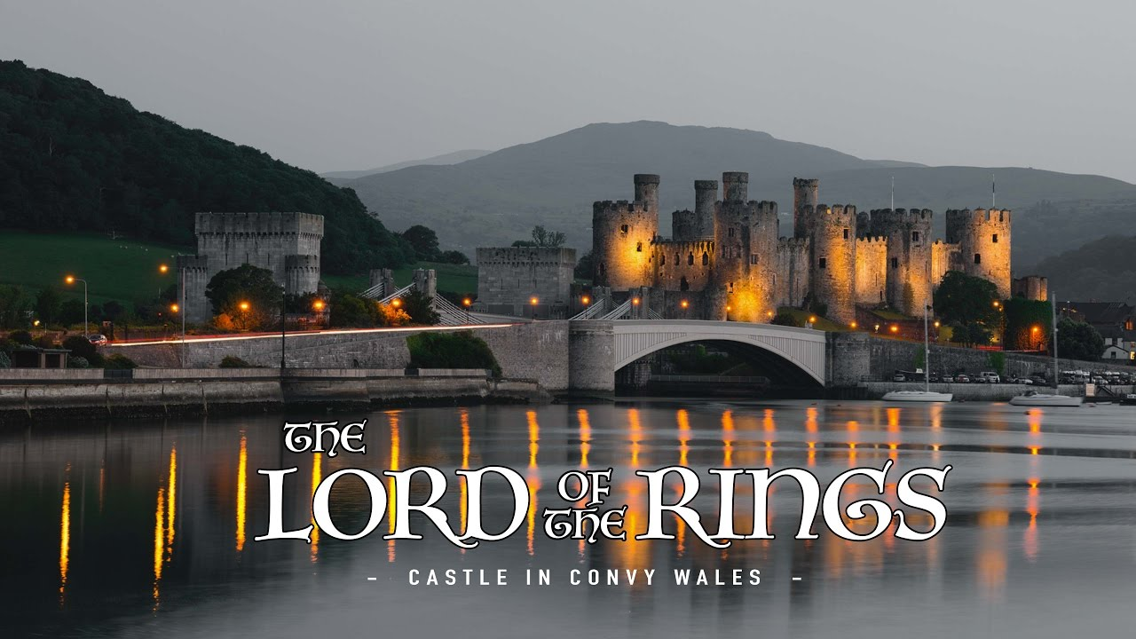The Real Lord Of The Ring Castle in Wales - 4K