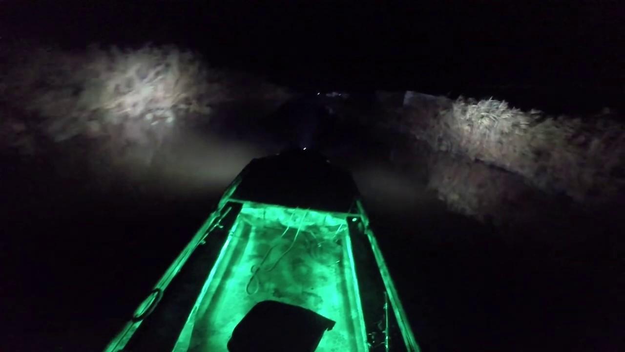 Тест новой лодки болотохода с мотором 18 л.с