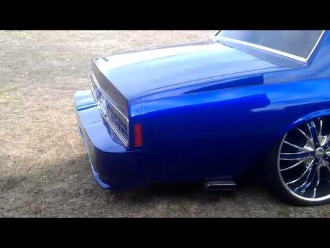 1989 Kandy Kobalt Bagged Box Chevy Caprice