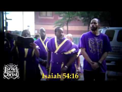 The Israelites NUCLEAR WEAPONS! IUIC