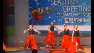 Kids Dance Performance at Genting Salome.