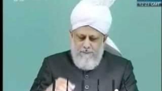 Проповедь Хазрата Мирзы Масрура Ахмада (27-08-10) часть 2