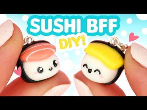 DIY SUSHI BFF! - Polymer Clay tutorial   KAWAII FRIDAY