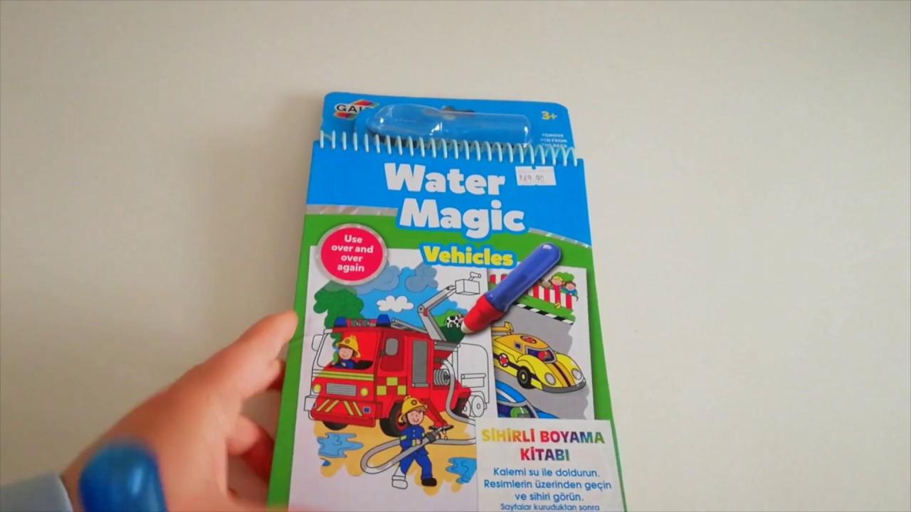 Serenad Toys Sihirli Boyama Kitabı Magic Water Youtube