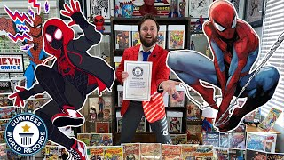 Biggest Spider-Man Collection! - Guinness World Records