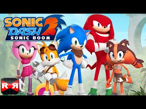 Sonic Dash 2: Sonic Boom (by SEGA) - IOS / Android - 60fps Gameplay Video