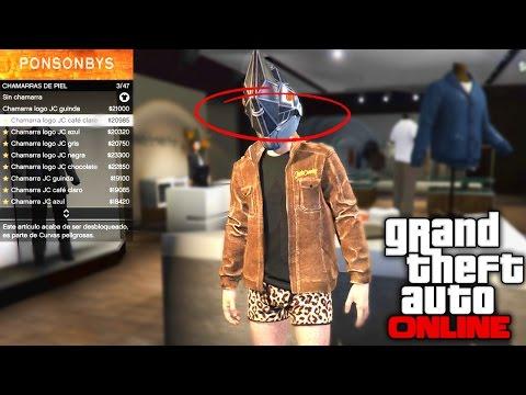 TRUCO GTA 5 ONLINE | COMO TENER CONJUNTO SECRETO TITAN (Grand Theft Auto  V Juggernaut)