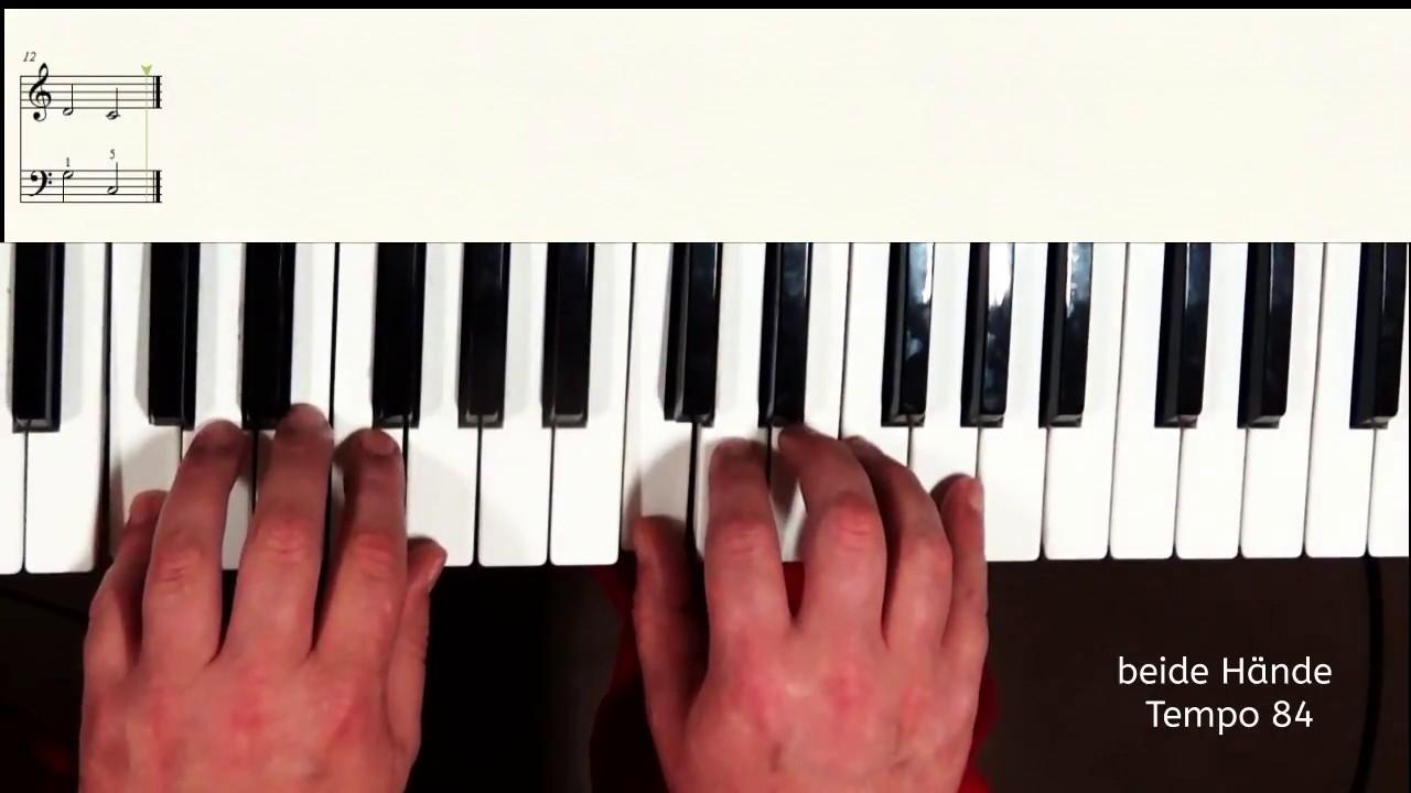 Keyboard Weihnachtslieder Anfänger.Klavier Lernen Weihnachtslied Morgen Kommt Der Weihnachtsmann Sehr Einfach Ideal Für Anfänger