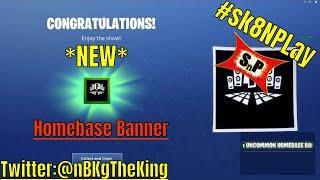 """nBKg zeigt das Fortnite """"Homebase Banner"""", das durch die Fertigstellung der Marshmello-Herausforderungen freigeschaltet wurde"""
