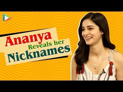 Ananya Panday REVEALS Her Quirky Nicknames | SOTY 2 | Pati Patni Aur Woh Mp3