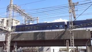 京阪電車普通を間近で撮影してみました。
