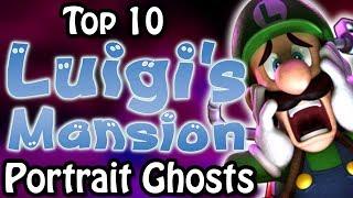 Top 10 Luigi's Mansion Portrait Ghosts