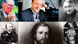 (PART 2) Happy 200th Birthday Alkan! Lecture on Alkan with Smith, Lenehan and Hamelin from 1994