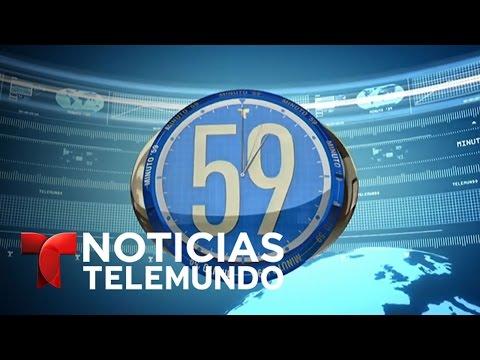 Minuto 59, viernes 21 de abril del 2017 | Noticiero | Noticias Telemundo