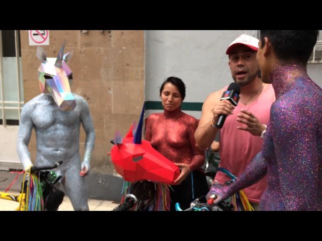 Rodada Nudista WNBR 2017 Unicornios