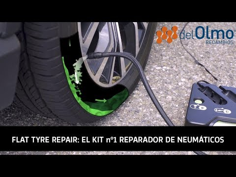 Kit Flat Tyre Repair, el reparador de pinchazos nº1