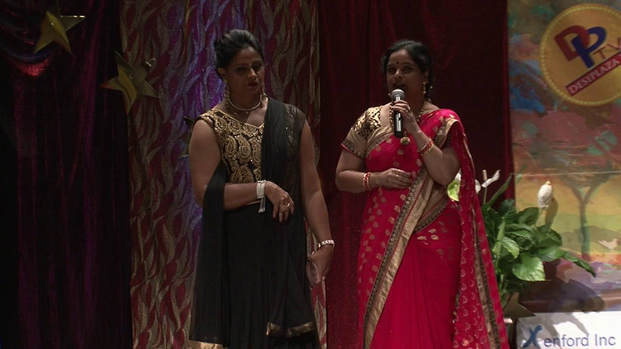 Introducing Dancing Judges Dr. Sudha Kalvaguntla and Ms. Meenakshi Seshadri at TSK Title