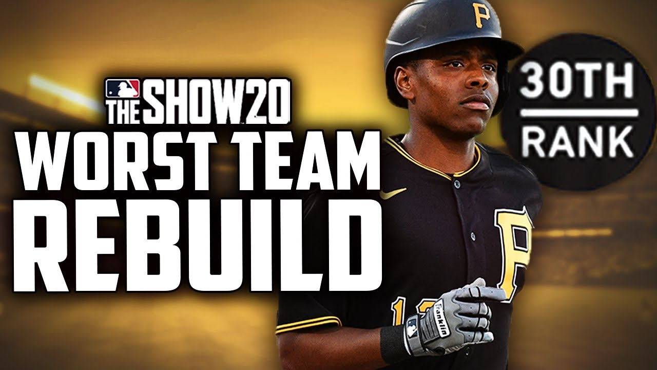 Rebuilding the Worst Team in the MLB... the Pirates